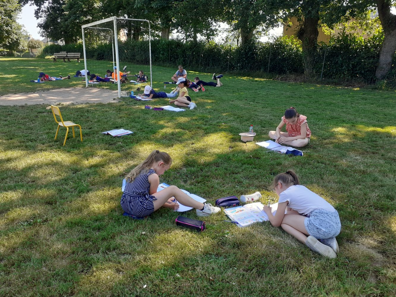 Les maths en plein air